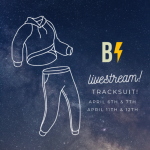 livestream: sewing a tracksuit
