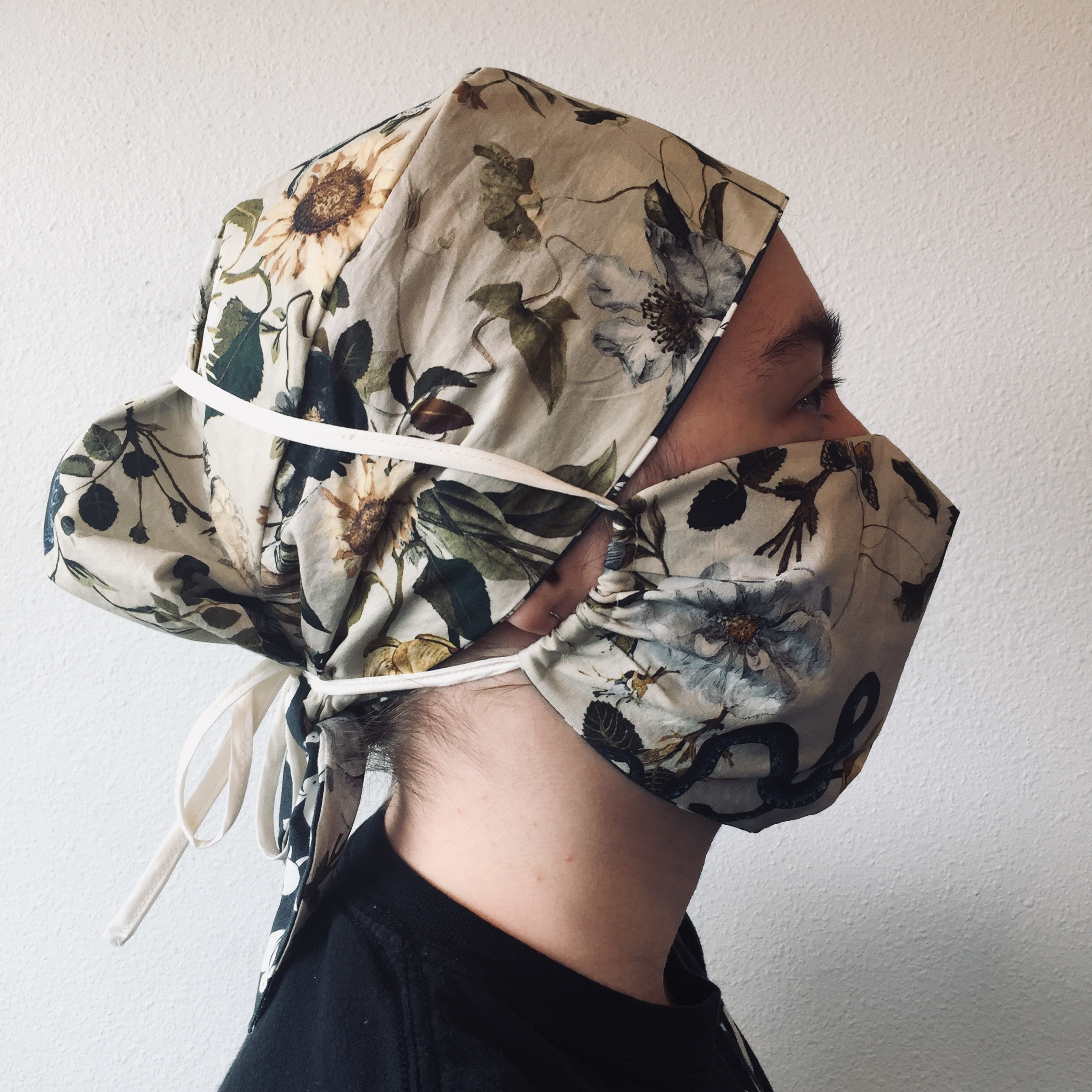 tutorial: sewing a custom mask & surgical cap