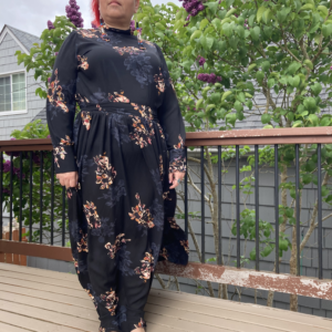 Witchy Floral Dress